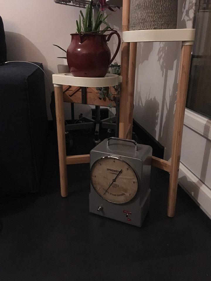 spiromètre vintage Spengler gironde