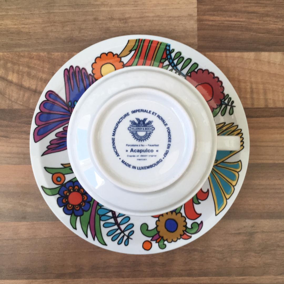 v/&b Villeroy /& Boch Izmir 1 tasse à café avec soucoupe