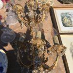 lustre doré vintage broc'a puces velines