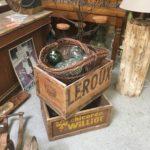 caisses bois publicitaire vintage dordogne
