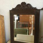 grand miroir bois travaillé vintage dordogne