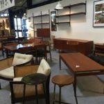meuble scandinave Salon des antiquaires bordeaux lac 2018