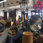 Lampes vintage Salon des antiquaires bordeaux lac 2018
