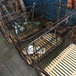 chariot vintage boulangerie industriel Salon des antiquaires bordeaux lac 2018