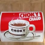 autocollant Choky chaud vintage