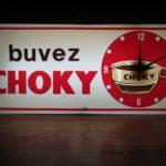 Ensigne lumineuse vintage Buvez Choky
