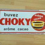 Plaque en plexi Buvez choky vintage