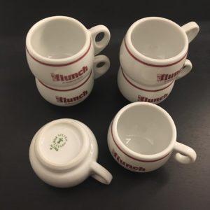 tasses expresso flunch vintage empliable porcelaine austria