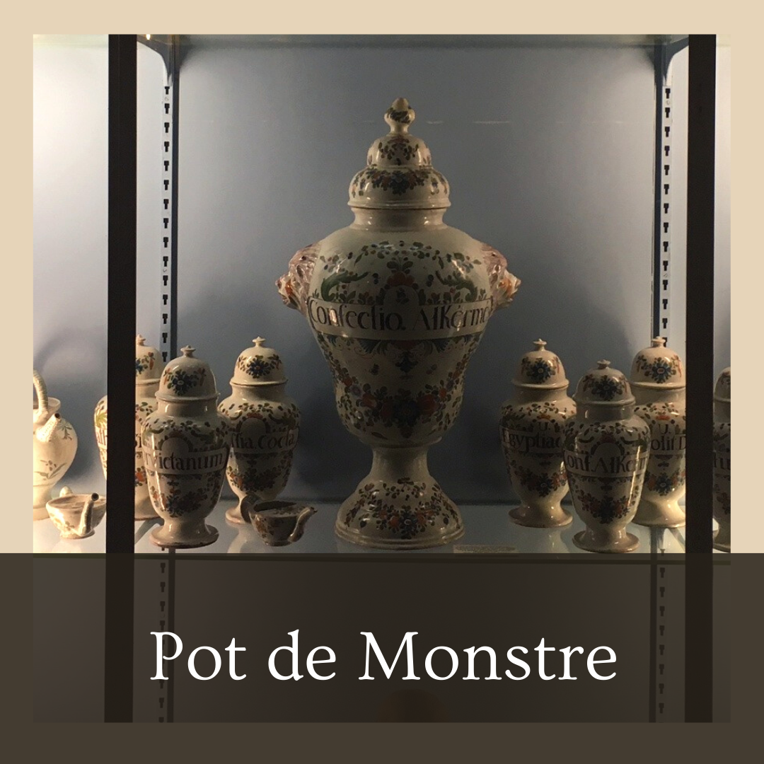 Pot d'apothicaire dit pot de monstrance