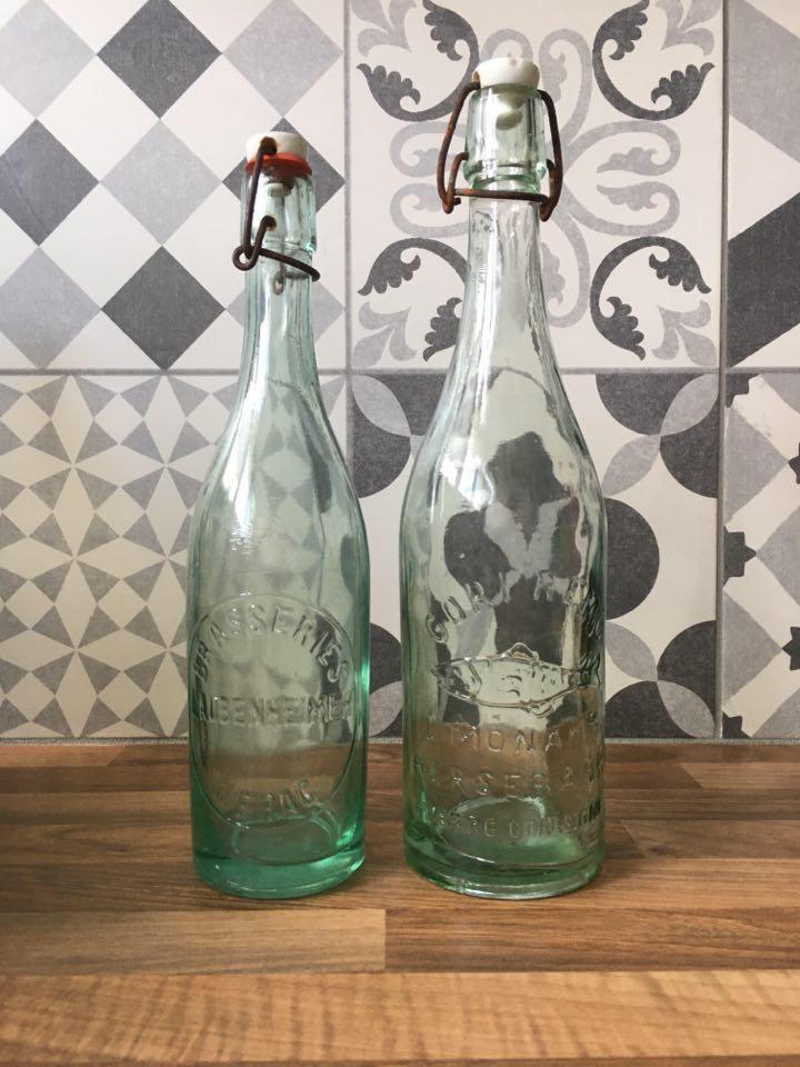 bouteille de limonade vintage