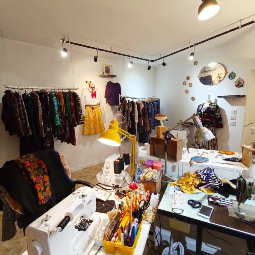 boutique atelier vintage Bordeaux St seurin