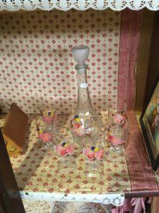 jolie carafe en verre St macaire 33 recyclerie