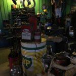 bidon vintage Garage BP Bordeaux