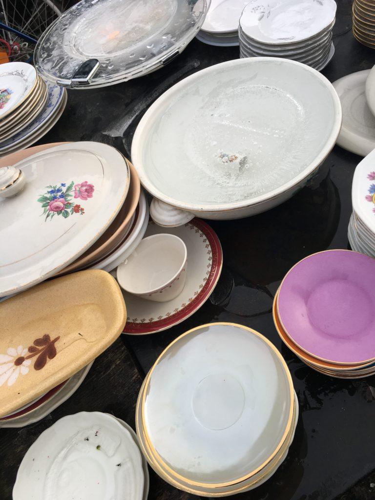 vaisselle vintage Emmaus Bazas