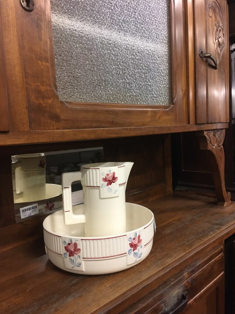 meuble buffet bois vintage recyclerie bazadaise