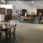 village antiquité brocante Rauzan vue d'intérieur