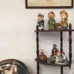 village antiquité brocante Rauzan statuettes vintage