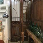 village antiquité brocante Rauzan portes vitrées anciennes