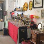 village antiquité brocante Rauzan vaisselle ricard collectionneur bar