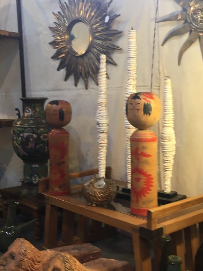 evenement brocante Libourne poupée bois vintage