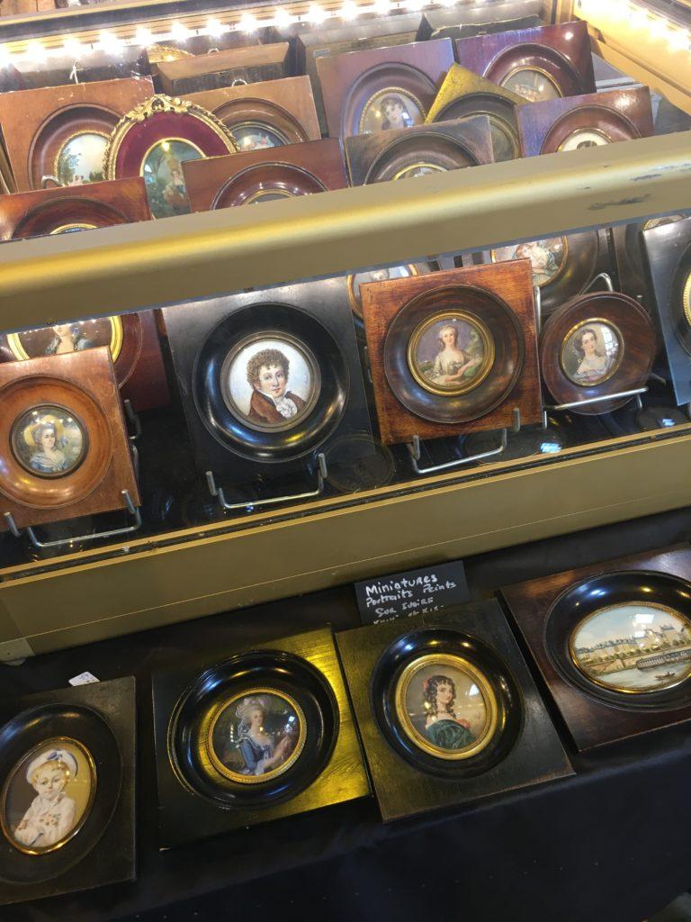 evenement brocante Libourne portrait miniature