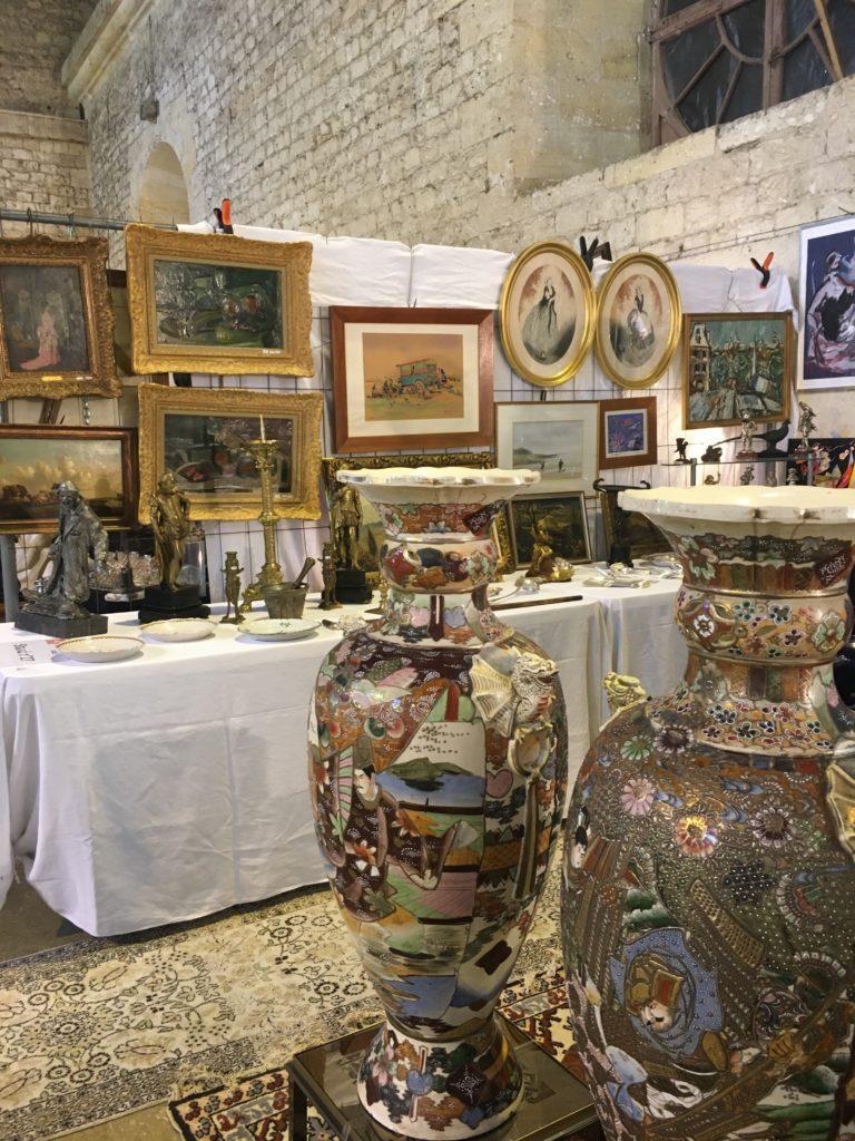 evenement brocante Libourne cadres peintures anciennes