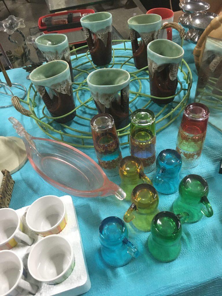 Les maillons du coeur recyclerie noaillan vaisselle vintage