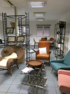 Bazar vagabond brocante fauteuils scandinaves Bouliac