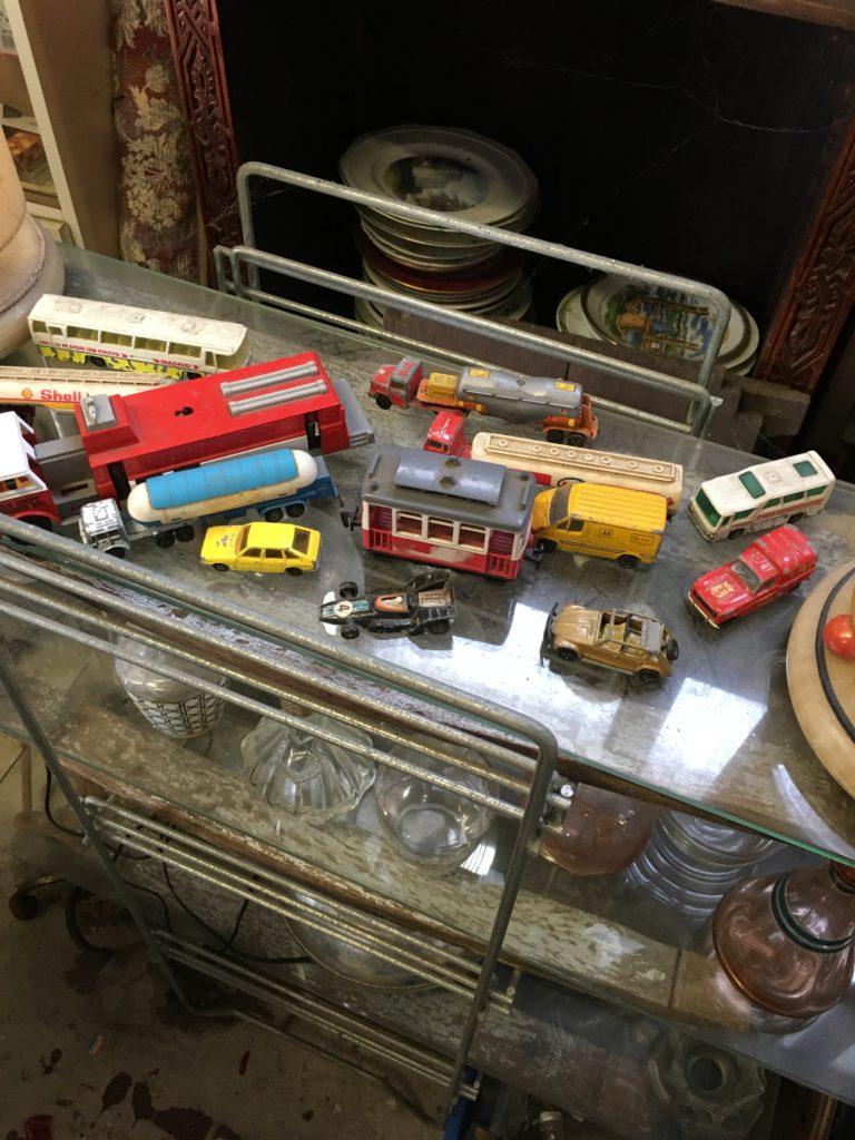 brocante andernos les bains voiture et camion jouet vintage
